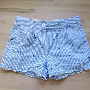 Girls Nautica shorts (size 8 but run small)